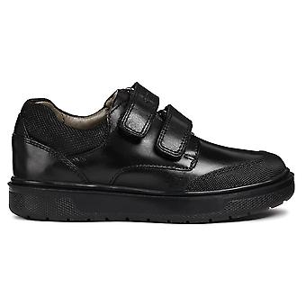 Geox Boys Riddock J847SF School Shoes Black