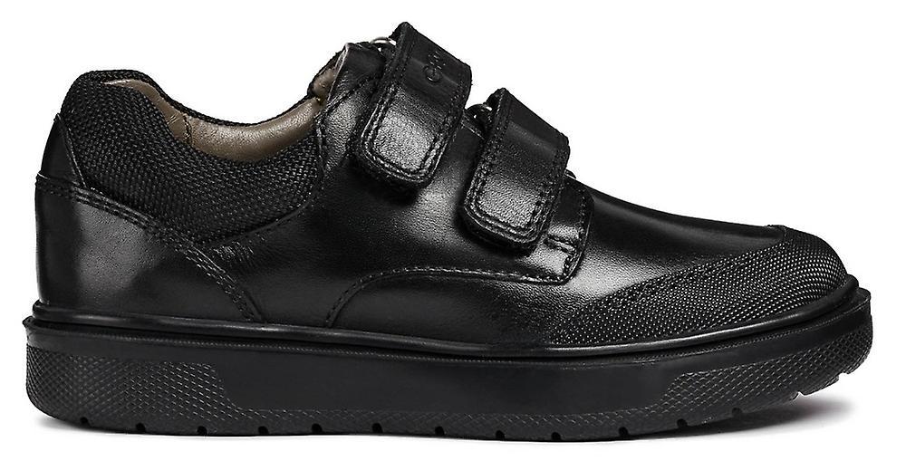 Geox Boys Riddock J847SF School scarpe nero | Moderato Prezzo  | Uomini/Donne Scarpa