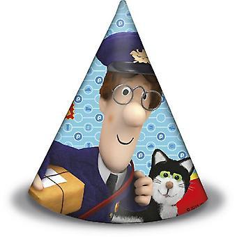 Post Postman Pat party hats Postman Pat children birthday 6 pieces
