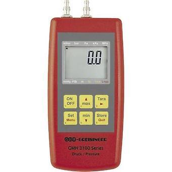 GREISINGER GMH3161-07B manómetro presión, gases no corrosivos, gases corrosivos -0.01 - 0.42 bar