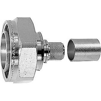 7-16 DIN connector Plug, straight 50 Ω Telegärtner J01120B0090 1 pc(s)