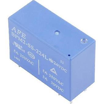 AFE BPM2-SS-212LM PCB relay 12 Vdc 5 A 2 makers 1 pc(s)