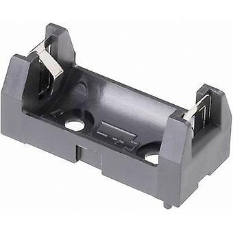 Talão de solda AA chave 108 bateria bandeja 1 x 1/2 (L x W x H) 34,5 x 16 x 15 mm