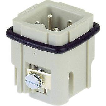 Pin inset Han® A 09 20 003 2611 Harting 3 + PE Screws 1 pc(s)