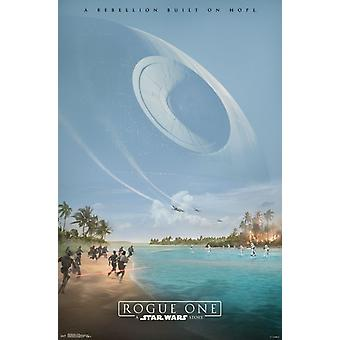 Star Wars Rogue One� - Teaser Poster Print
