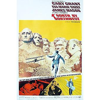 L'affiche de troisième invisible Cary Grant, Eva Marie Saint, James Mason