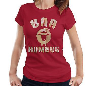 BAA Humbug Schaf Weihnachten Damen T-Shirt