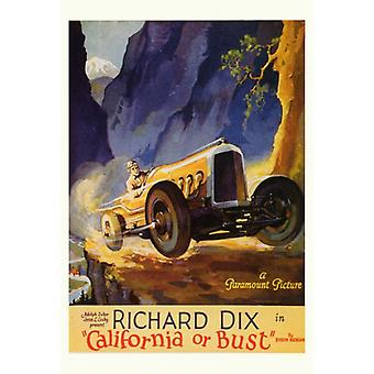 California or Bust Movie Poster Print (27 x 40)