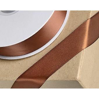 38mm Brown Satin Ribbon for Crafts - 25m | Ribbons & Bows for Crafts
