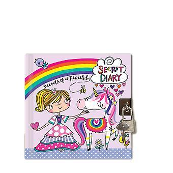 Rachel Ellen Princess Unicorn Diary With Padlock