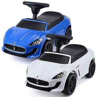 Kids Maserati GranCabrio MC Ride On Car Toddler Balance Walker Toy With Sounds