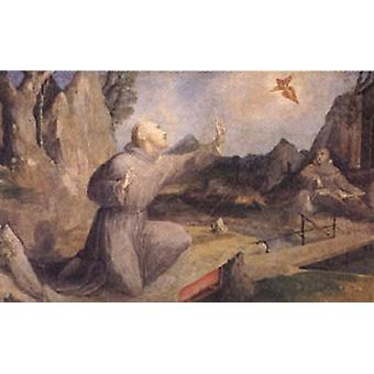 St Francis Receiving the Stigmata, Domenico Beccafumi