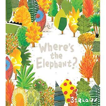 Dove si trova l'elefante? di Barroux - 9781405271387 libro
