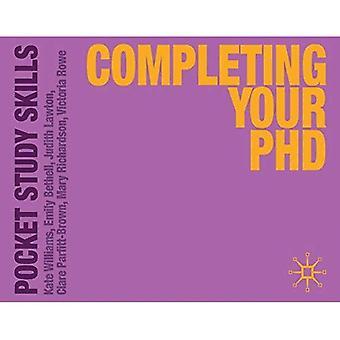 Ukończeniu doktorat