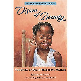 Visão de beleza: A história de Sarah Breedlove Walker (Candlewick biografias)
