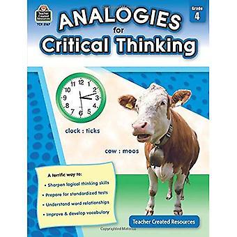 Analogieën voor kritisch denken: klasse 4