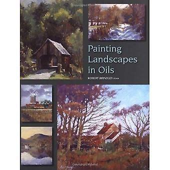 Pintar paisajes al óleo