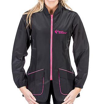 Groom Professional Milano Full Sleeve Jacket Pink/Black