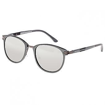 Breed Orion Aluminium Polarized Sunglasses - Gunmetal/Silver