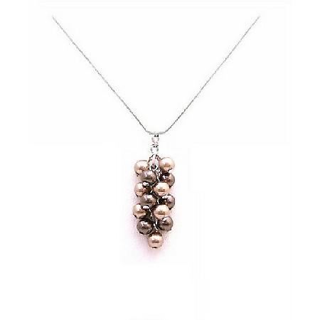Treat Your Mom To A Fashion Jewelry Gift Pearls Pendant Necklace