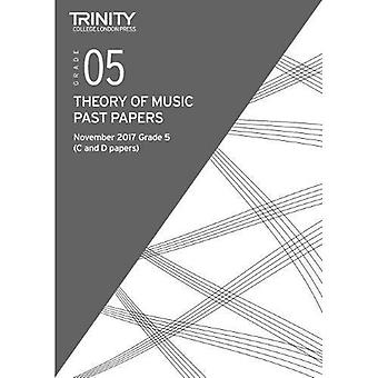 Trinity College London: Past Papers: Theory (Nov 2017) Grade 5