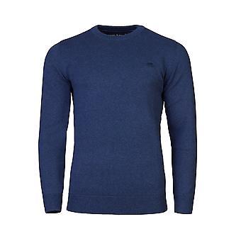 Suéter de la cachemira de cuello redondo algodón - Smart del dril de algodón