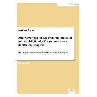 Anforderungen an Krisenkommunikation mit anschlieender Darstellung eines konkreten Beispiels by Rosenkranz & Jan