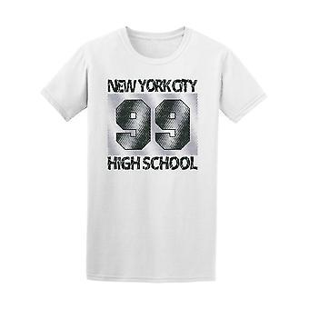 New York City High School 99 Tee Men's -Image by Shutterstock