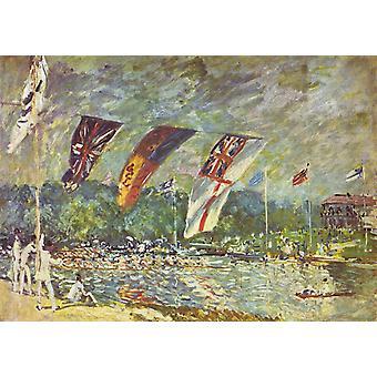 Regattas at Molesey,Alfred Sisley,60x42cm