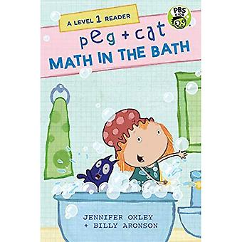 Peg + Cat: Math in the Bath: A Level 1 Reader (Peg + Cat)