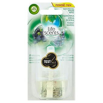 Air Wick Life Scents Air Freshener Electrical Plug In, Forest Waters, Refill