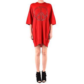 Love Moschino Red Acrylic Dress