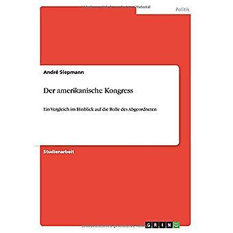 Der amerikanische Kongress by Andr? Siepmann - 9783640966356 Book