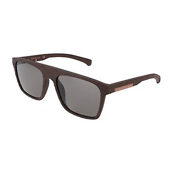 Calvin Klein Men Brown óculos de sol--CKJ7405808