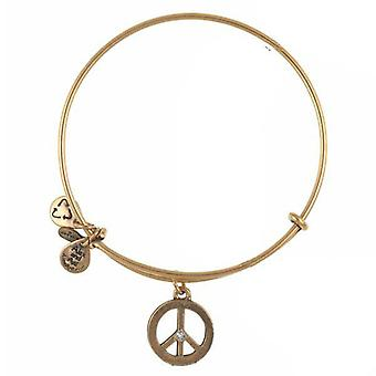 Alex en Ani World Peace Gold Bangle A09EB139RG