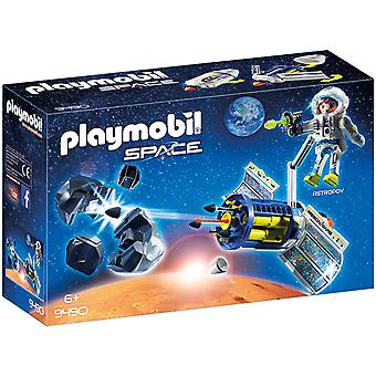 Playmobil 9490 Space Satellite Meteoroid Laser with Working Cannon