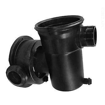 Jacuzzi 16098501R 90 Deg Discharge Strainer Case Assembly for Pool Pumps