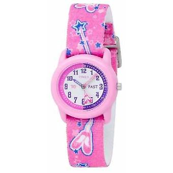 Timex Kids Pink Ballerina Analogue Strap T7B151 Watch