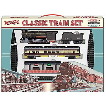 Retro Classic stor leksak tågset med tåg