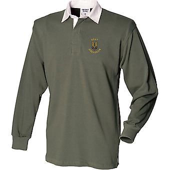 SAS Special Air Service Boat Sqn - Licensed British Army Embroidered Long Sleeve Rugby Shirt