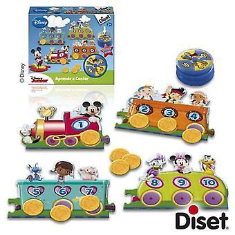 Diset leer rekenen Disney Junior (baby's en kinderen, speelgoed, educatieve en creatieve)