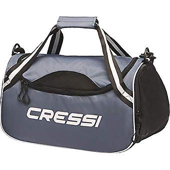 Cressi Kauai Bag - Unisex Adulto - Grigio/Nero - Taglia Unica