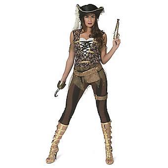Pirate Women's Costume Pirate Sea Heroine Thème Fête Carnaval Costume Dames