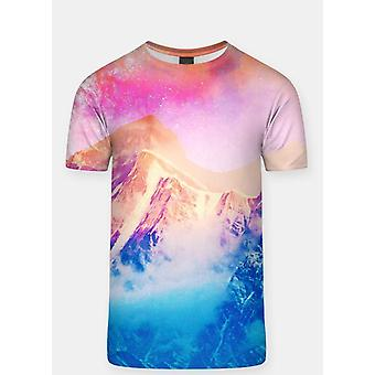 Pink sky  sublimation adult t-shirt