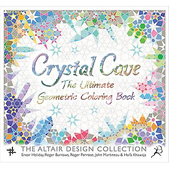 St. Martin's Books-Crystal Cave Coloring Book SM-86627