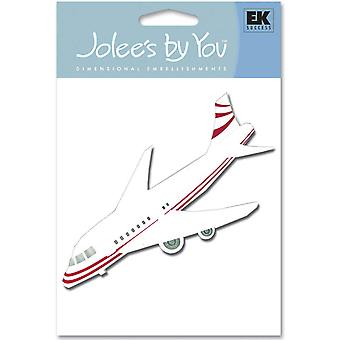 Jolee's By You Dimensional Embellishment Airplane Jj C 71101