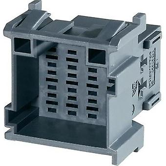 Socket enclosure - cable J-P-T Total number of pins 12 TE Connectivity 1-967627-5 Contact spacing: 5 mm 1 pc(s)