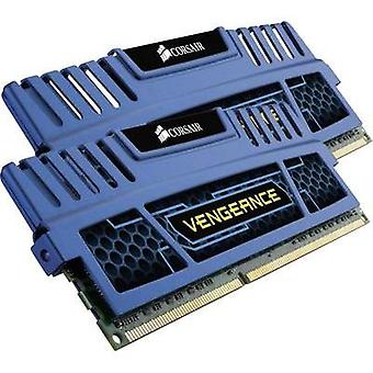 PC RAM kit Corsair Vengeance Cerulean Blue CMZ8GX3M2A1600C9B 8 GB 2 x 4 GB DDR3 RAM 1600 MHz CL9 9-9-24
