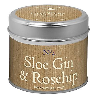 Simply Natural Collection Candle in a Tin - Sloe Gin & Rosehip