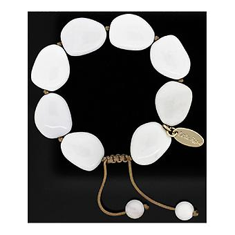 Lola Rose Malinda Bracelet Ivory Stone